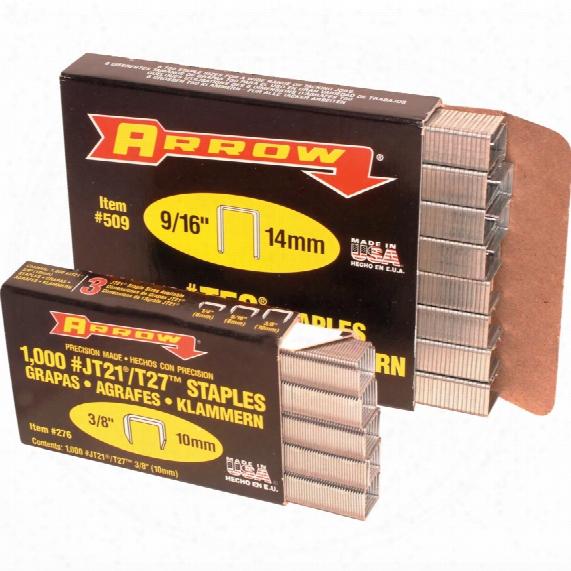 "Arrow Fastening 506 3/8"" (10mm) Staples (box-5000)"