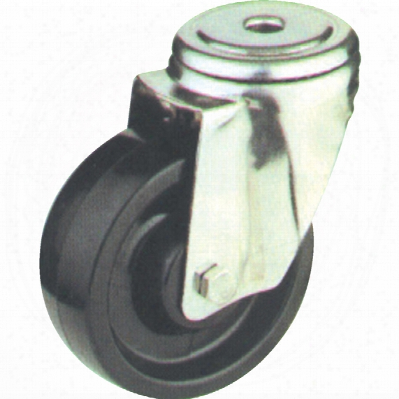Atlas Workholders 80mm B/h Swiv. Castor(zinc)hi-temp Wheel