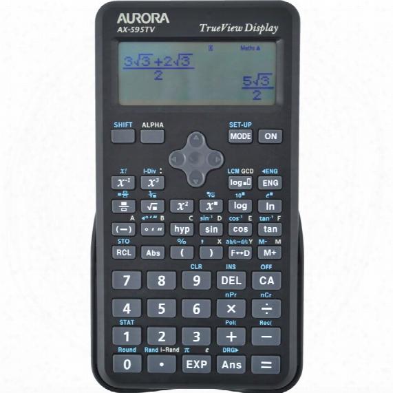 Aurora Ax595tv Scientific Calculator