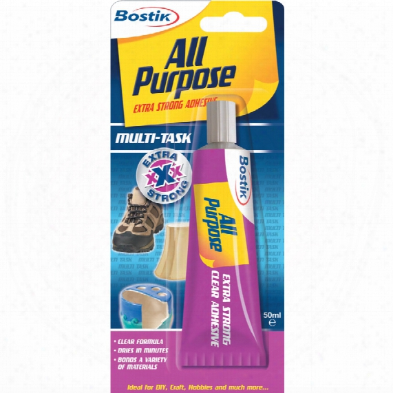 Bostik Economy Size All-purpose Adhesive 50ml