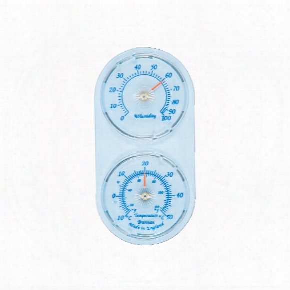 Brannan 30/412/3 Twin Thermometer /humidity Dials