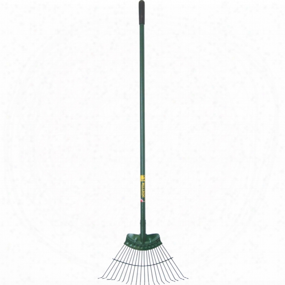 Bulldog B9128 Lawn Rake Steel Handle