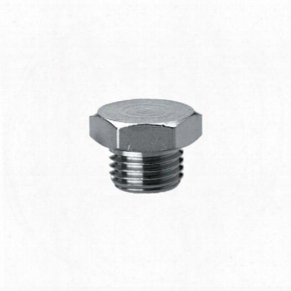 Camozzi 2611 1/4 Male Blanking Plug Parallel
