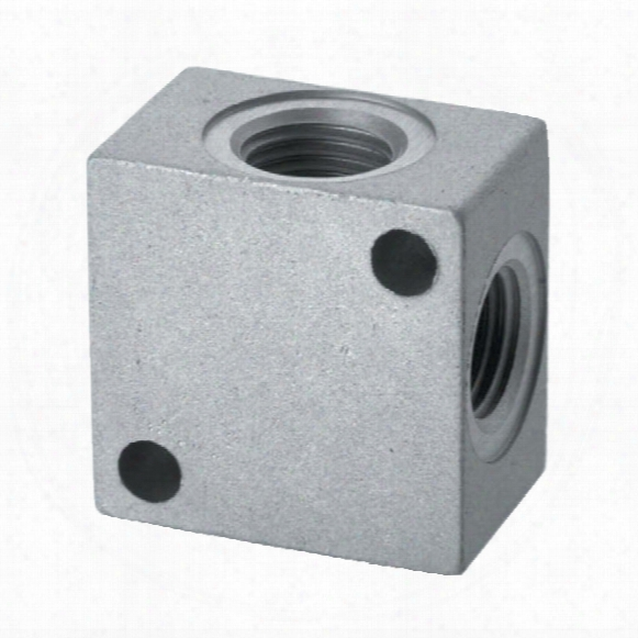 Camozzi 3033 1/4 Distribution Blocks