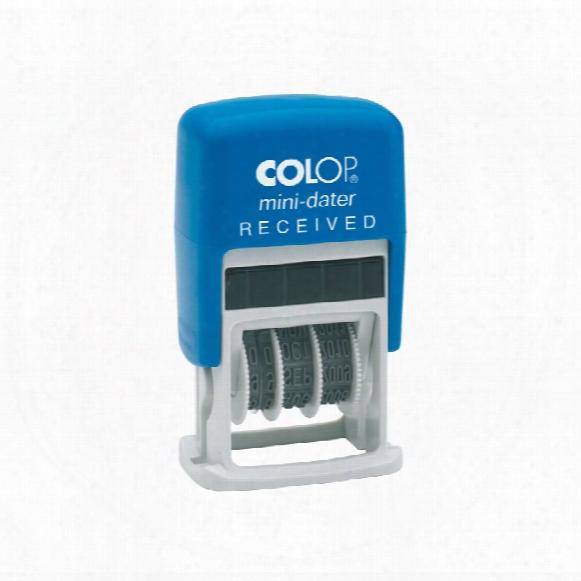 Colop S160/l1 Mini Dater Received