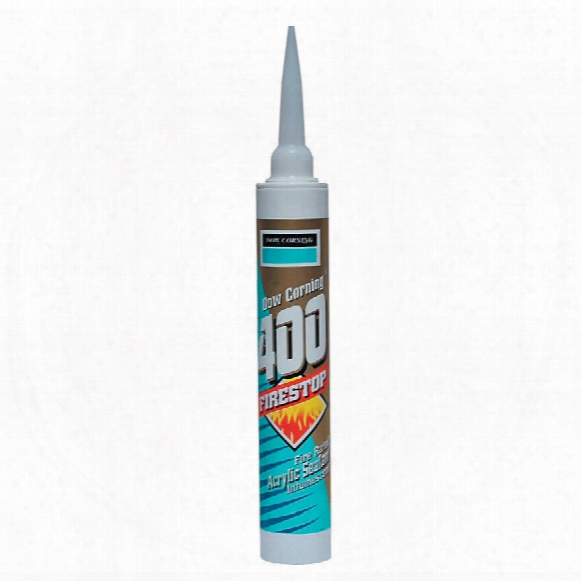 Dow Corning Firestop 400 Acrylic Sealant White 380ml