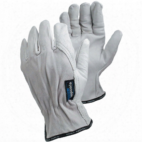 Ejendals 640 Tegera Fully Coated White Gloves - Size 9