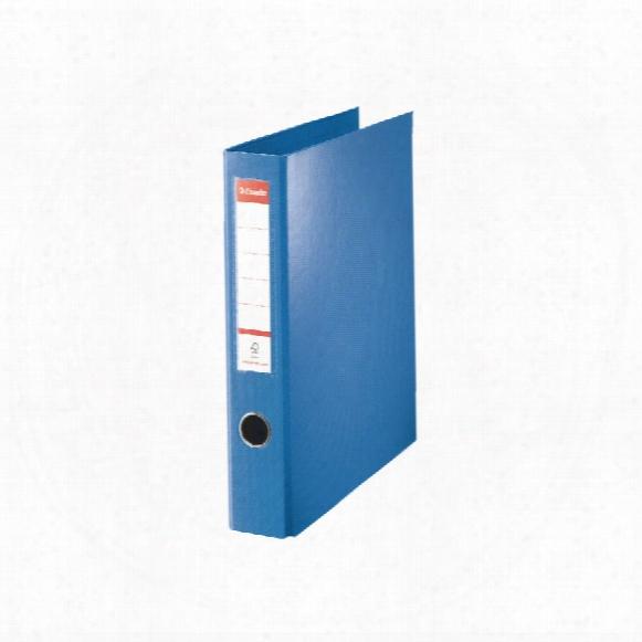 Esselte 40mm A4 4dr Ring Binder Blue 82405