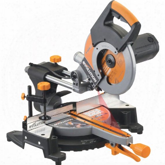 Evolution Power Tools Rage 3 255mm Mitre Saw 110v