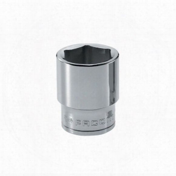 """Facom S.17h 17mm 6pt 1/2"""" Dr. Socket"""