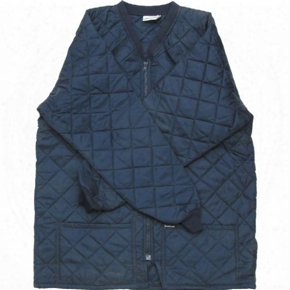 Faithful Fontwell Quilted Navy Jacket - Size 2xl