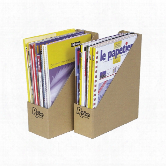 Fellowes Earth Magazine File (pk-20)