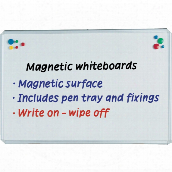 Legamaster 103143 Drywipe Board Magnetic 900x600mm