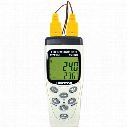 Cie Tm-82N Digital Thermometer C/W 2 Thermocouples (Dt82)