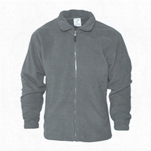 Absolute Apparel Aa61 Heritage Grey Fleece Jacket - Size S