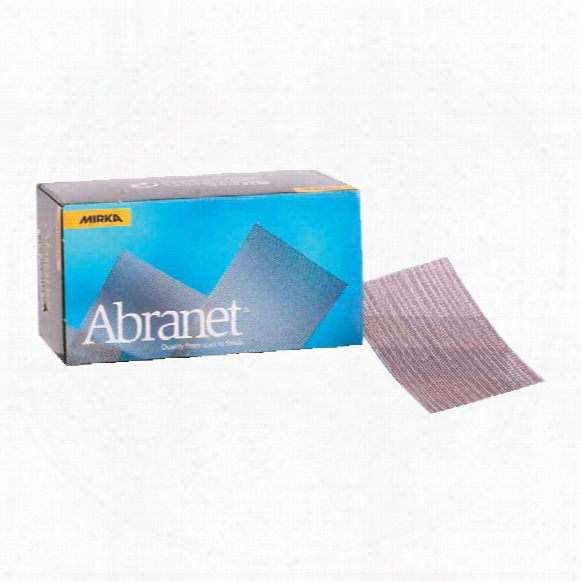 Brooke Cutting Tools Abranet 70x125mm Strip P240 541490 5025 (pk-50)