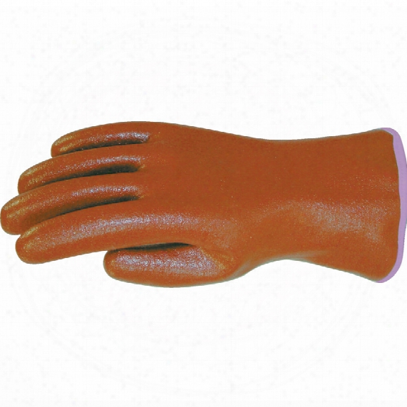 Comasec Master Driver Brown Nitri Le Dipped Gauntlets Sz.8