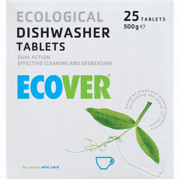 Ecover 2107 Dishwash Tablets (pk-25)