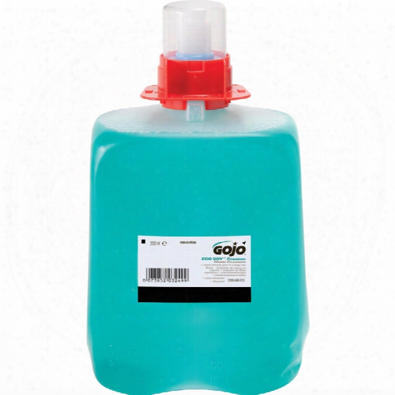 Gojo 5268-03 Eco Soy Foaming Hand Cleaner 2000ml