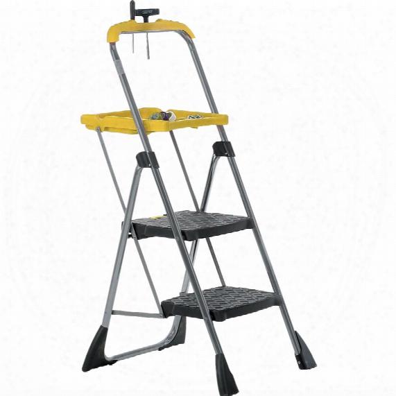 Gpc Industries Ltd Fjy02z Folding Steps With Tray 2 Step