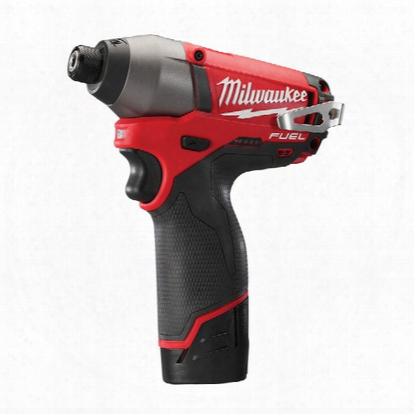 Milwaukee M12cid-202c M12 Fuel Compact Impact Driver 2x2.0ah Li-ion Batts