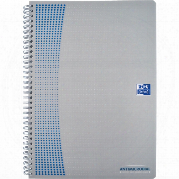 Oxford A4 Antimicrobial P /prop Notebook (pk-5)