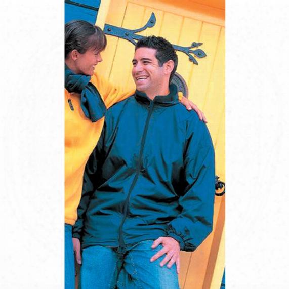Result Headwear R16 Reversible Navy Fleece Jacket - Size S