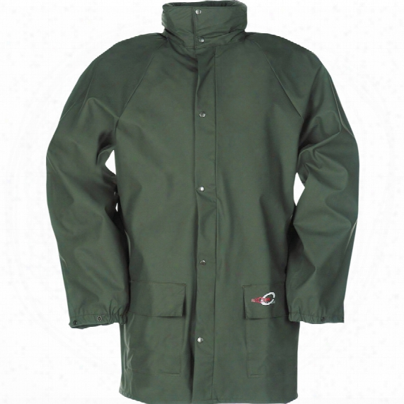 Sioen 4820 Dortmund Green Rain Jacket - Size Xl