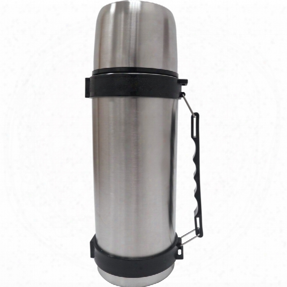 Stainless Steel Flask 1lt R With Carry Handle