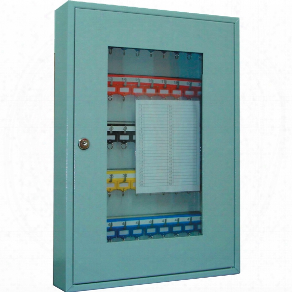 Sterling Heavy Duty 50-key Cabinet With Perspex Window