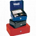 "Cathedral Cash Box 8"" Blue"