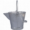 Cotswold 10Ltr Galvanised 'V' Lipped Tar Bucket (3 Gallon)