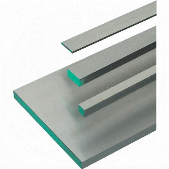 Workshop 8mmx150mmx500mm Ground Flat Stock Gauge Plate - 01 Tool Steel