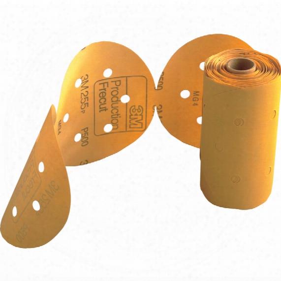 3m 150mm 255p Stikit Discs R D600a Holed P120