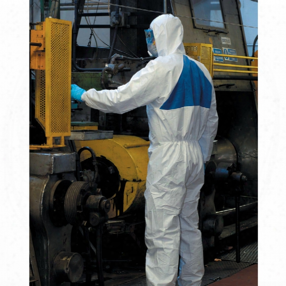 3m 4540+ Protective Coverall Type-5/6 White (m)