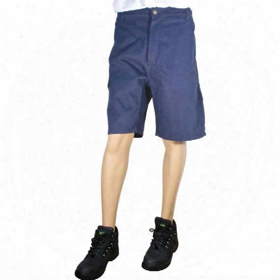 Beeswift Click Original Workwear Cargo Pocket Navy Shorts - 38