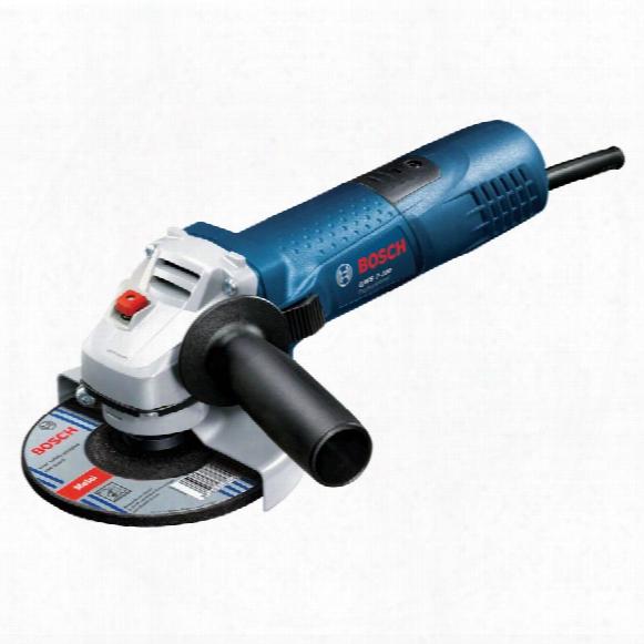 """Bosch Gws 7-100 4"""" 720w Slim Grip Grinder 240v"""