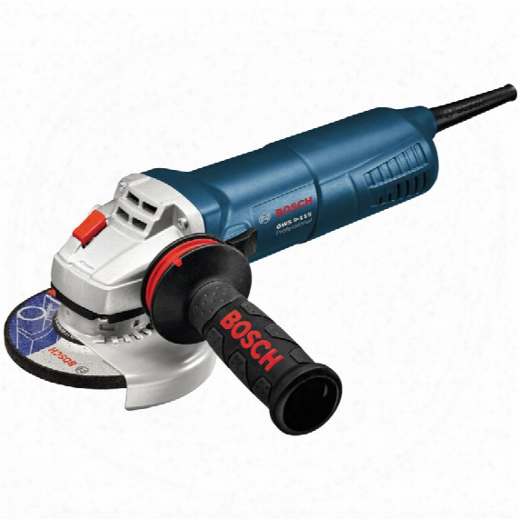 "Bosch Gws 9-115 Avh 4.1/2"" 900w Slim Grip Grinder 110v"