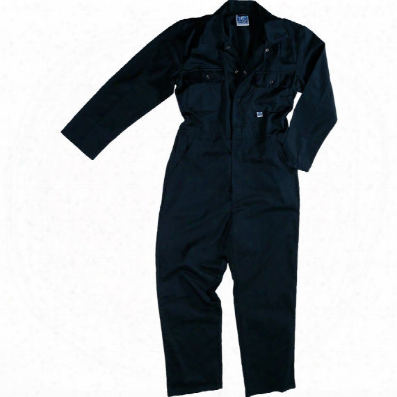 Brano 344 Navy Overall - Stud Front - Small