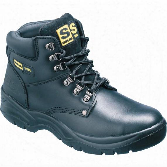 Brano Ss806sm Men's Black Hiker Safety Boots - Size 10