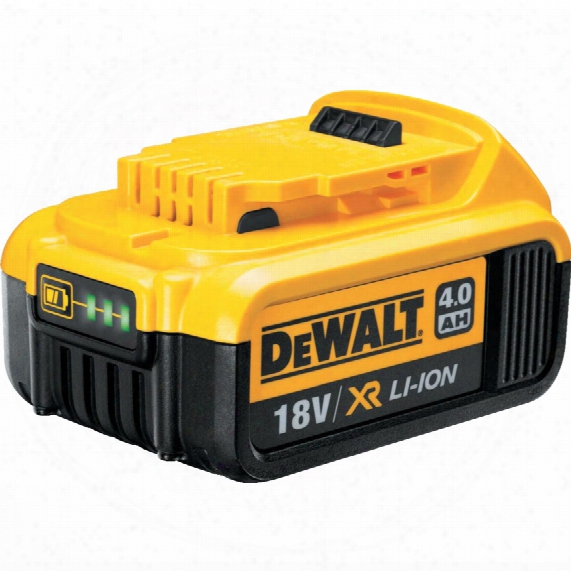 Dewalt Dcb182-xj 18v 4.0ah Battery Pack