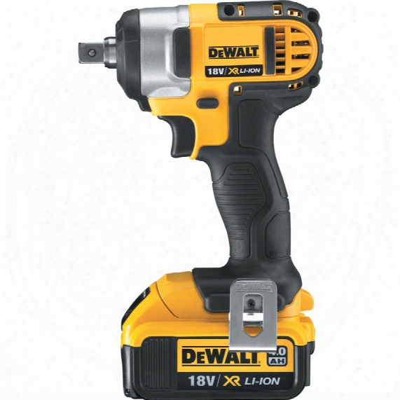 Dewalt Dcf880m2-gb 18v Xr Impact Wrench 2x4.0ah & Kitbox