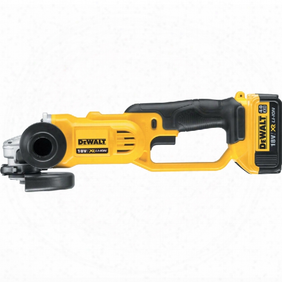 Dewalt Dcg412m2-gb 18v 125mm Ang /grinder 2x4.0ah & Kitbox