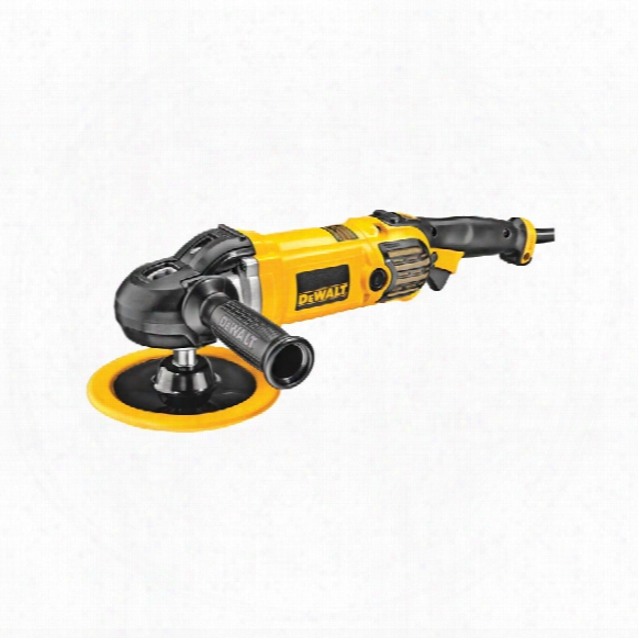 Dewalt Dwp849x-lx 180mm 1250w V/ Speed Polisher 110v