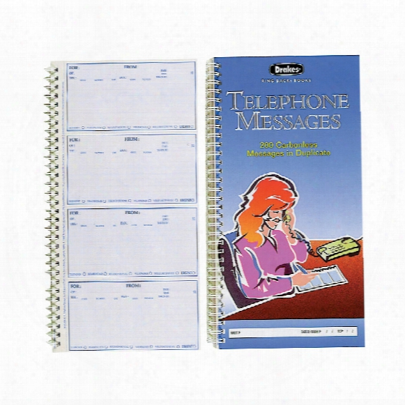 Drakes Ringback Telephone Mess Book 030103