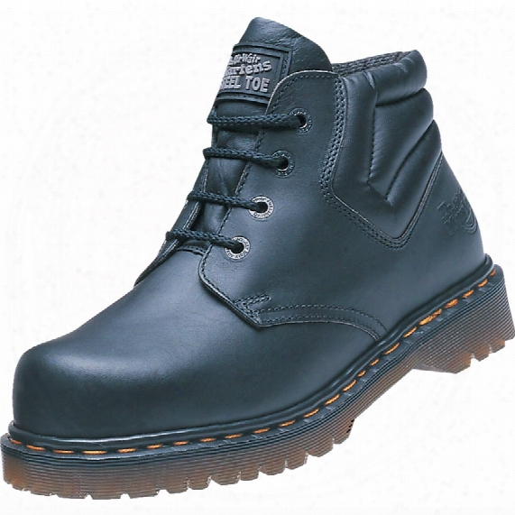 Drmartens 6632 Icon Greasy Men's Black Chukka Safety Boots - Size 8