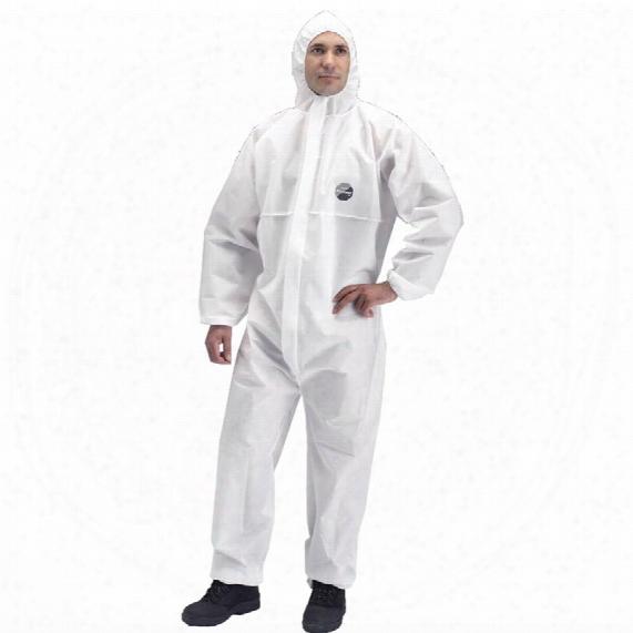Dupont Proshield Chf5 Basic White Overall - Large