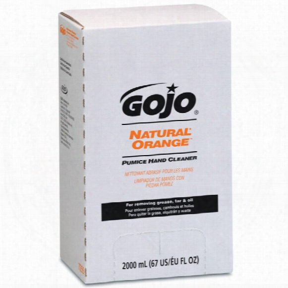 Gojo 7255-04 Nat Orange Pumice Hand Cleaner Pro 2l (4)