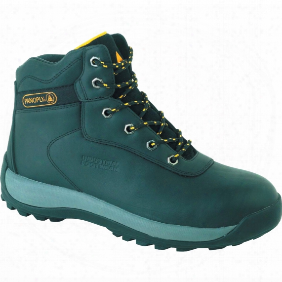 Lh842sm Men's Green Padded Safety Boots - Size 9