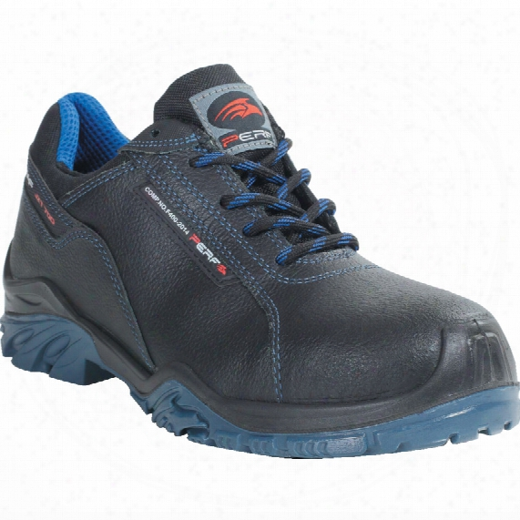 Perf Pb7 Tornado Low Black Safety Trainers - Size 6